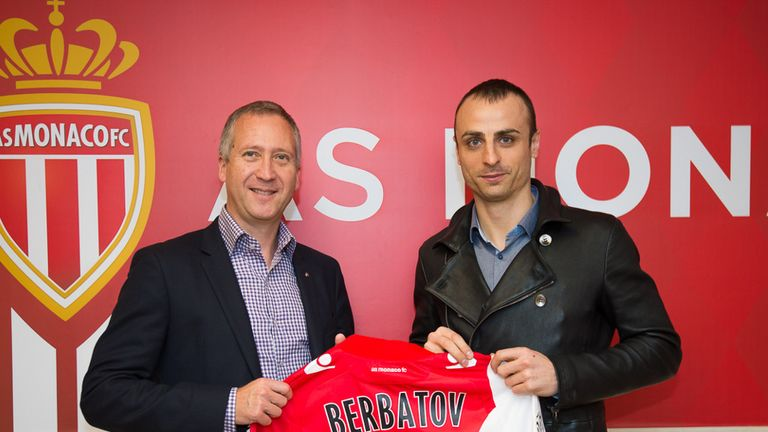 Dimitar Berbatov: Loan move pleases Vadim Vasilyev