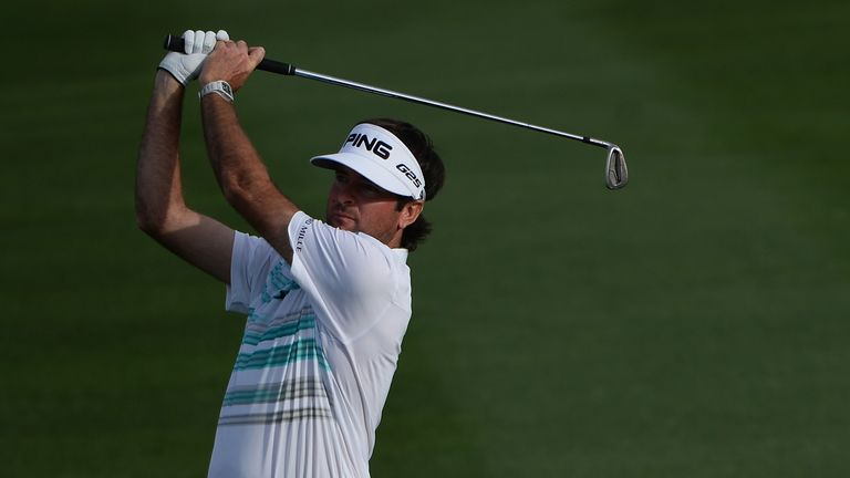 Bubba Watson: Shares the lead at the Phoenix Open