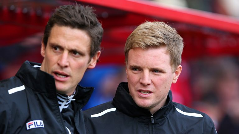 Eddie Howe (R): Was happy to take a point
