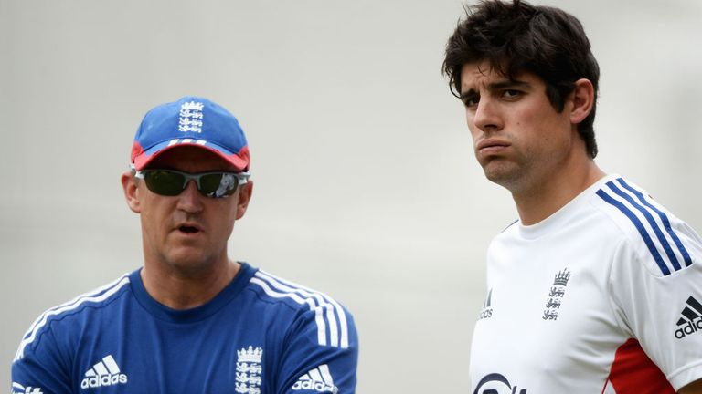 Andy Flower and Alastair Cook are planning England's rebuilding process
