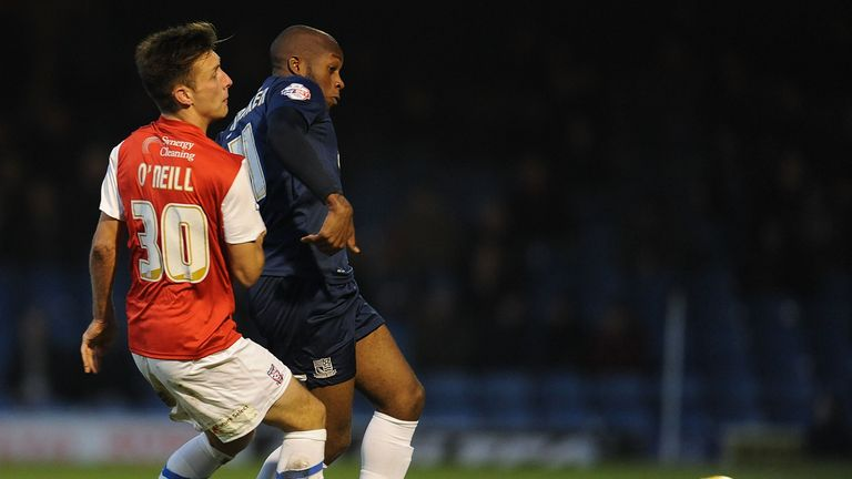 Anthony Straker: In action against York City last season