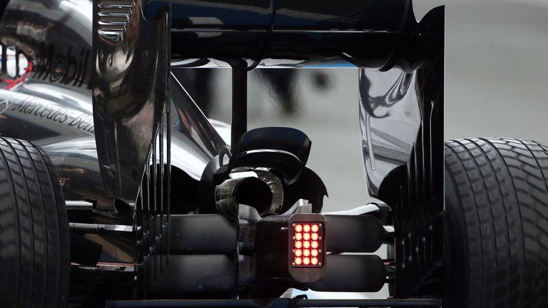 McLaren have attracted the attention of rival teams with the design of the rear of their car.