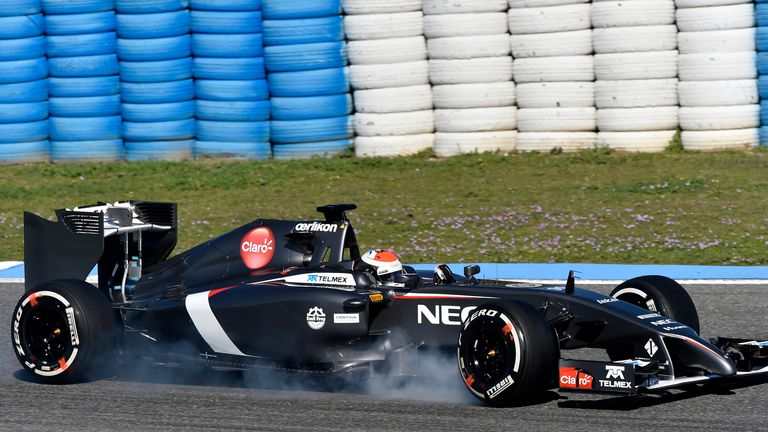 Sauber: Plenty of lock ups from their drivers at Jerez