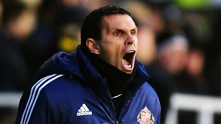 Gus Poyet: Sunderland boss is unhappy with Wednesday's opponents Stoke