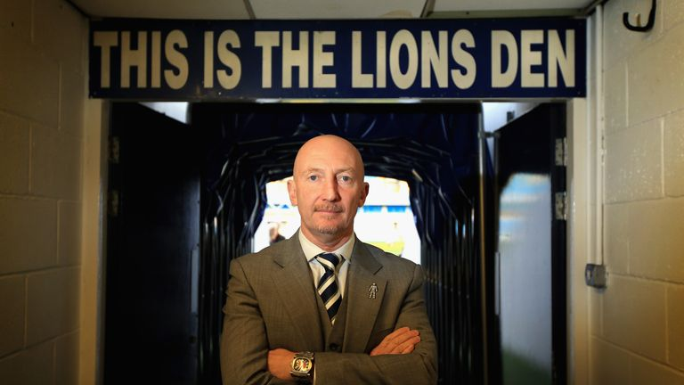 Millwall manager Ian Holloway is in no rush to buy