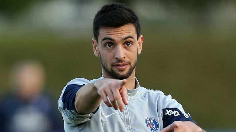 Javier Pastore: Subject of January transfer speculation