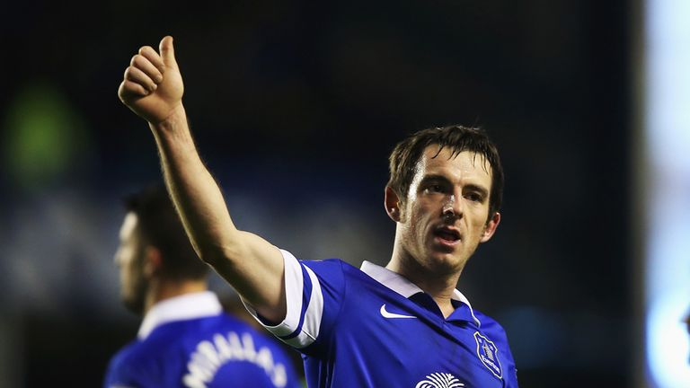 Leighton Baines: Aiming to go all the way in the FA Cup