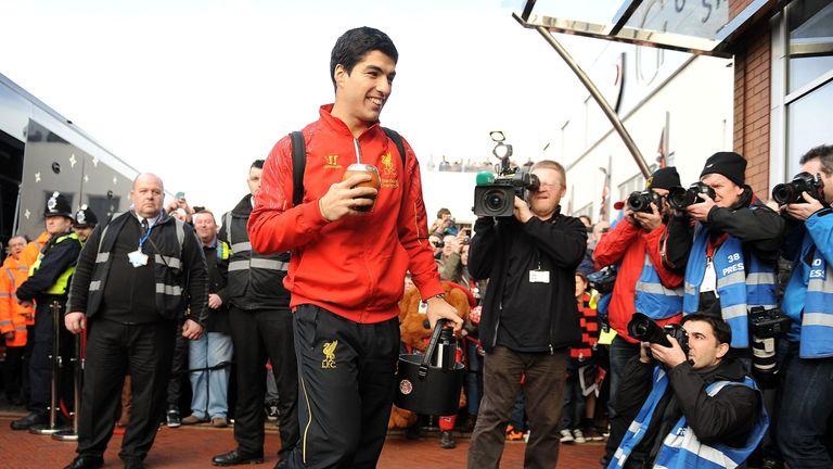 Luis Suarez: Very happy at Liverpool