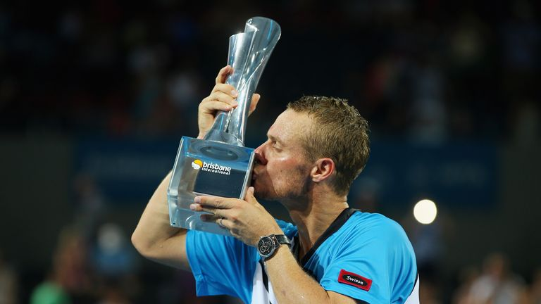 Lleyton Hewitt: Took his first ATP title since 2010