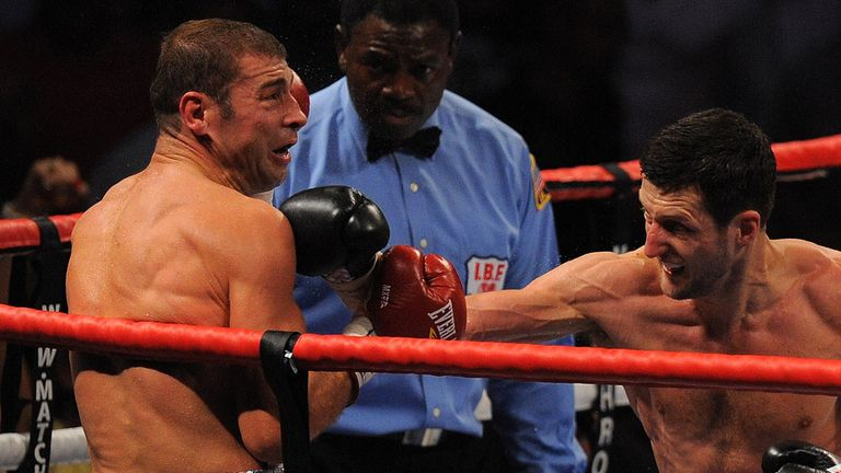 Lucian Bute: Took a heavy beating from Carl Froch in 2012