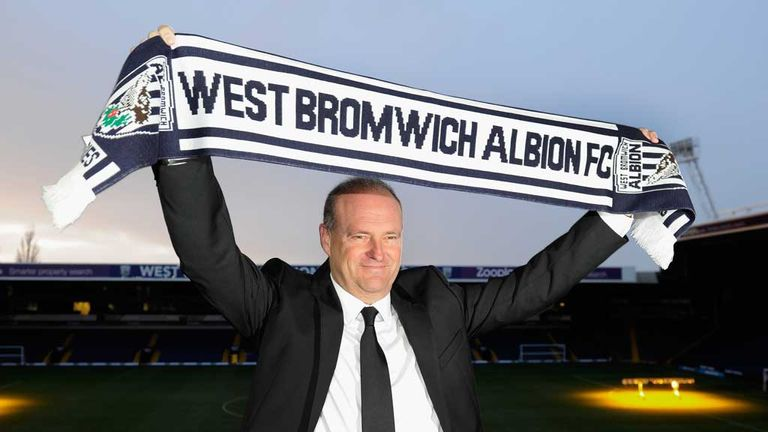 Pepe Mel: Appointed West Brom boss on 9 January
