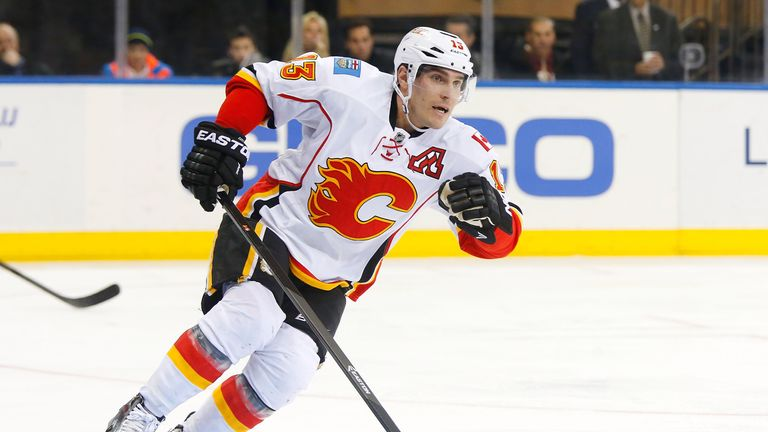 Mike Cammalleri: Netted the key goal for the Calgary Flames