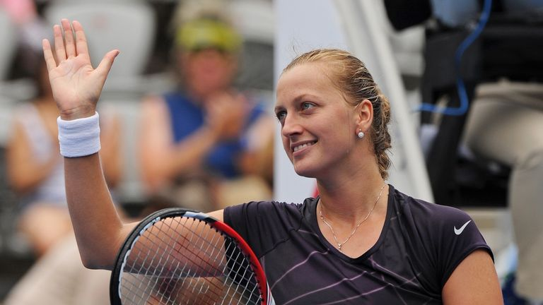 Petra Kvitova registered the 300th win of her career