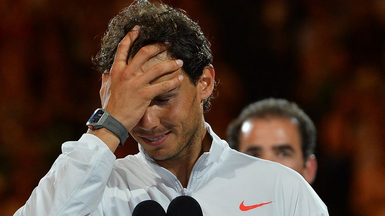 Rafa Nadal: Was hampered by a back injury in Australian Open final