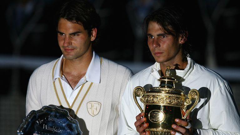 Rafael Nadal dethroned Roger Federer in fading light at Wimbledon in 2008