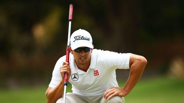 Adam Scott: World No 2 will sit out the WGC-Accenture Match Play next month