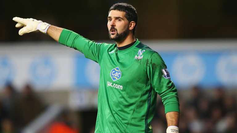 Julian Speroni: Crystal Palace goalkeeper has signed a new deal