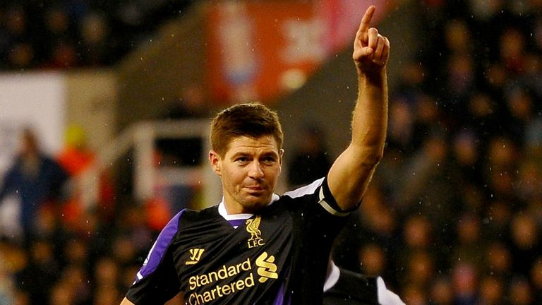 Steven Gerrard: Set for a more defensive role with Liverpool