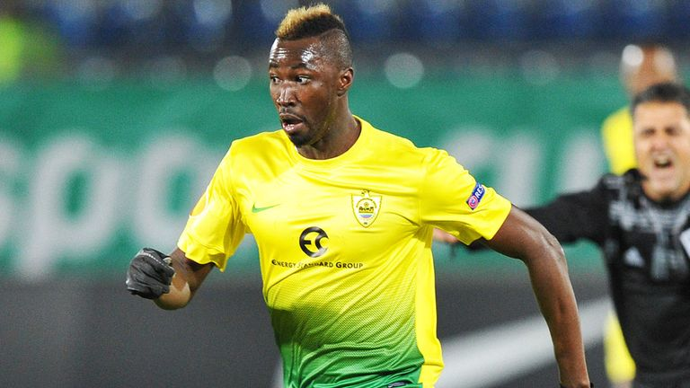 Lacina Traore: Monaco striker has agreed to join Everton on loan