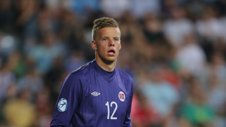 Orjan Nyland: Linked with Cardiff City