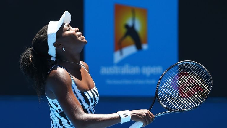 Venus Williams: Suffered a first-round loss to Ekaterina Makarova