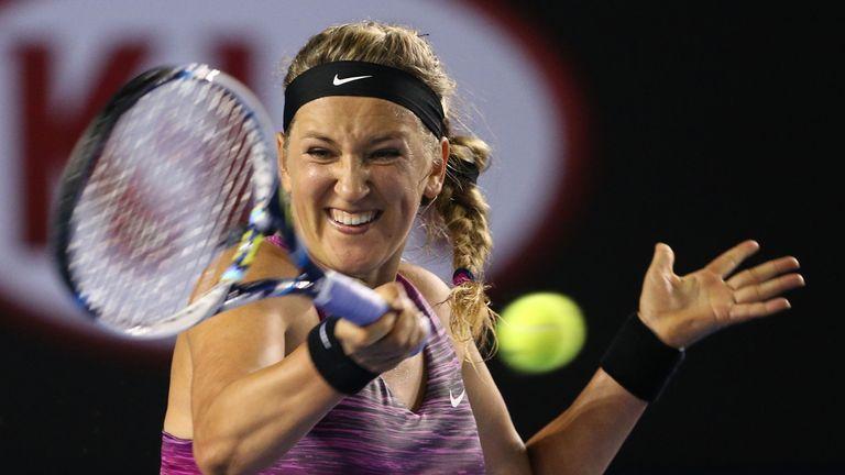 Victoria Azarenka saw off Barbora Zahlavova Strycova at the Australian Open