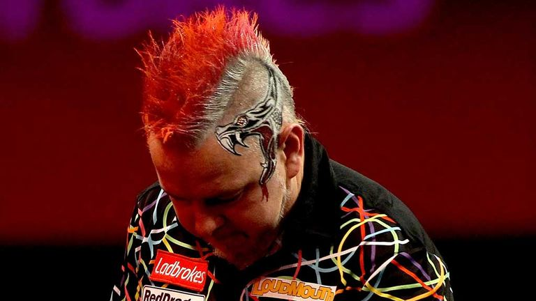 Peter Wright: Suffered two defeats in Thursday's Premier League Darts