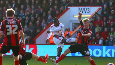 Victor Moses: Put Liverpool ahead at Dean Court