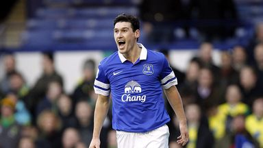 Gareth Barry: Joins Everton on three-year deal