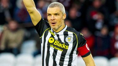 Jim Goodwin: St Mirren appealing his red card against Hibernian