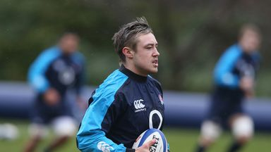 Jack Nowell: Starts on the left wing in Dublin