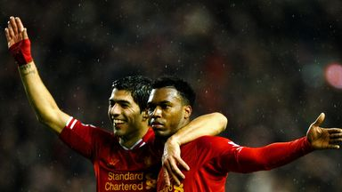 Luis Suarez and Daniel Sturridge: Have 49 Premier League goals between them this season
