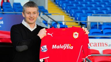 Ole Gunnar Solskjaer: New Cardiff boss has signed a rolling contract