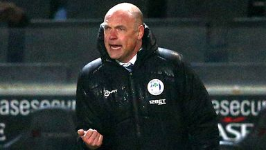 Rosler: Delighted with Nick Powell, who scored twice against MK Dons
