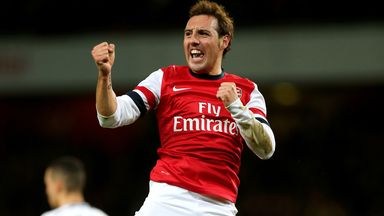Santi Cazorla: Being heavily linked with a return to his native Spain