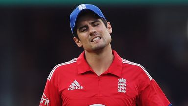 Alastair Cook: Backed by batting coach Graham Gooch