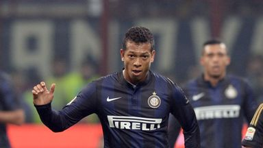 Fredy Guarin: Happy to stay at Inter