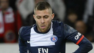 Jeremy Menez: Committed to seeing out his contract with Paris Saint-Germain