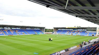 Shrewsbury's Greenhous Meadow stadium