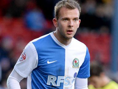 Jordan Rhodes grabbed a hat-trick for Rovers