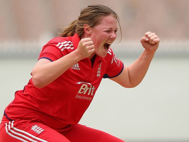 Anya Shrubsole: Starred for England with three wickets