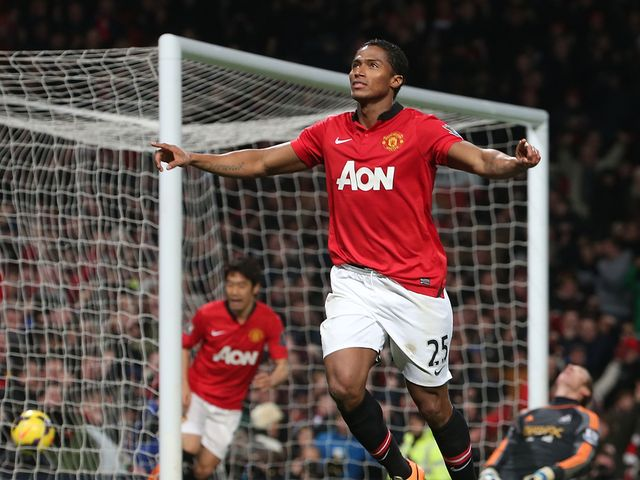 Antonio Valencia: Set Man United on their way with a goal