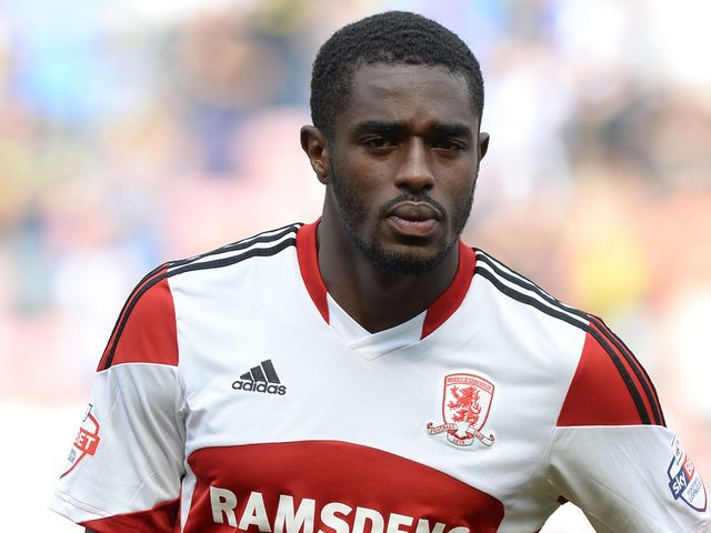 Mustapha Carayol: Double for Middlesbrough