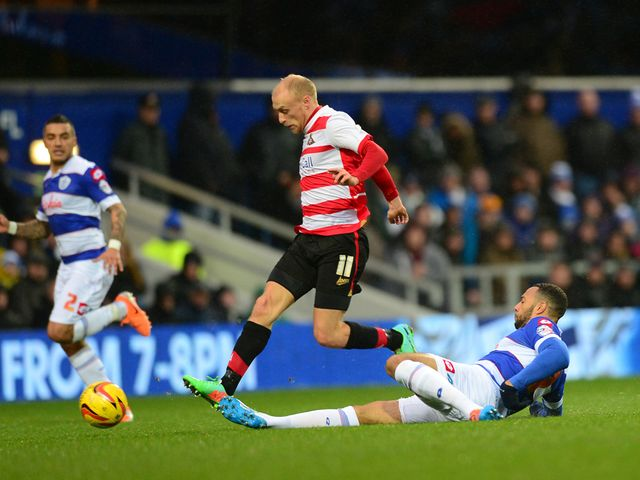 David Cotterill: Gave Doncaster the lead
