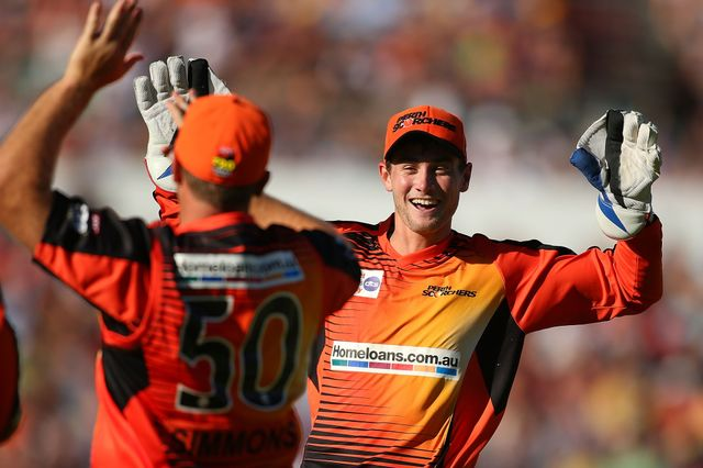 Perth Scorchers made it two BBL wins this season after bettering Sydney Thunder