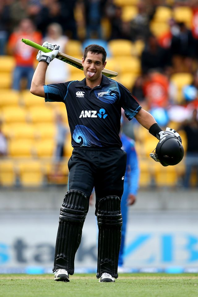 Ross Taylor: Made 106 out of New Zealand's total of 303-5 in Wellington