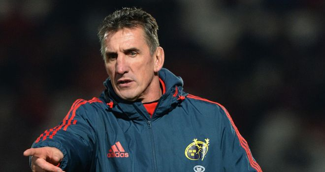 Rob Penney: Makes six changes to his Munster team for trip to Ospreys