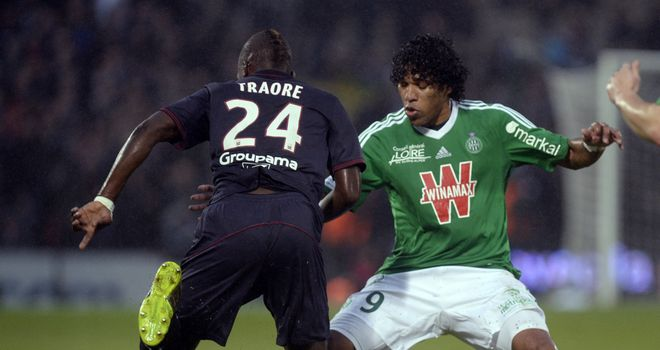 Abdou Traore (24) was on target for Bordeaux