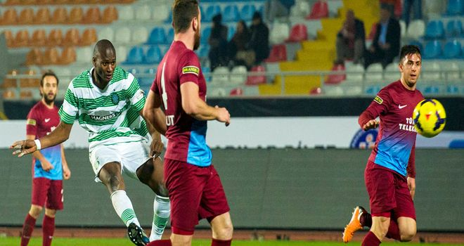 Amido Balde: Helped send Celtic to Antalya Cup final