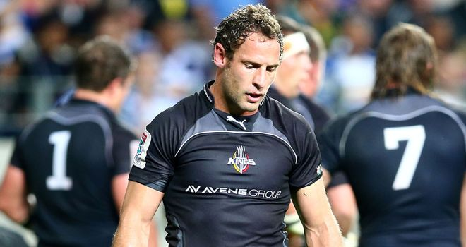 Andries Strauss during this summer's Super Rugby competition